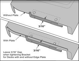 Mounting Bracket Assembly - adjust vertically - adjust horizontally